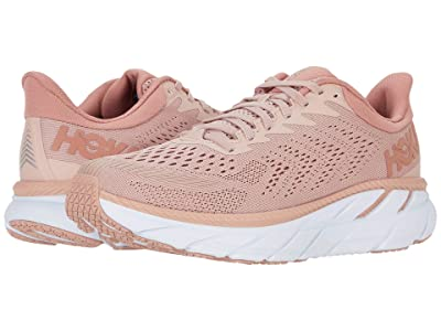 Hoka One One Clifton 7 (Misty Rose/Cameo Brown) Women