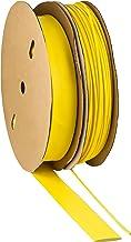 Krimpslang 2:1 geel keuze uit 10 diameters en 6 lengtes van ISOLATECH (hier: Ø2mm - 1 meter)