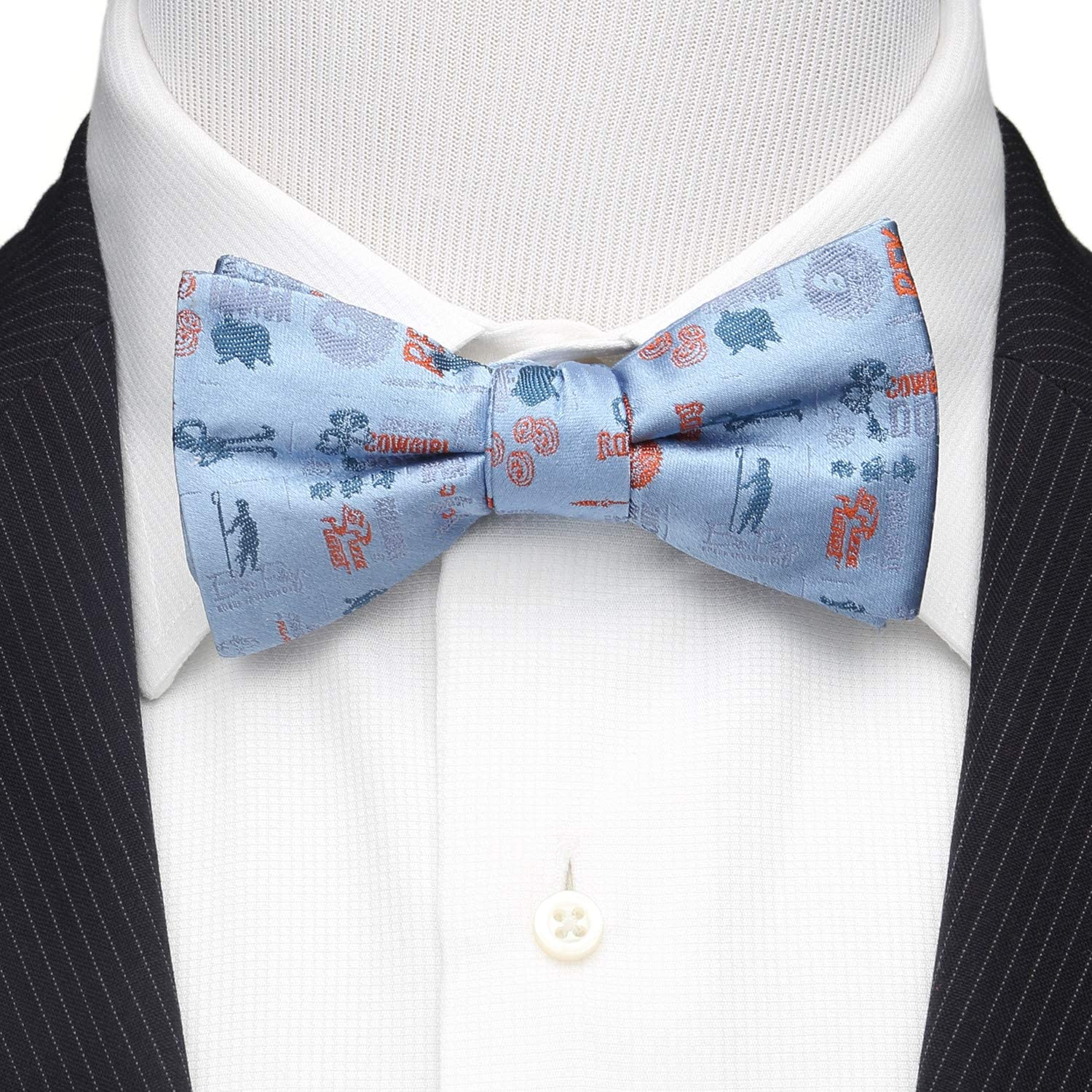 Toy Story 4 Characters Blue Men's Bow Tie