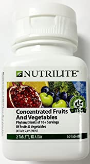 Nutrilite Concentrated Fruits and Vegetables 60 Tablets