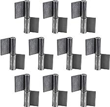 Gedotec Deurscharnier voor lasband voor metalen deuren | lasscharnier hoogte 80 mm | DIN rechts | heavy duty scharnier voo...