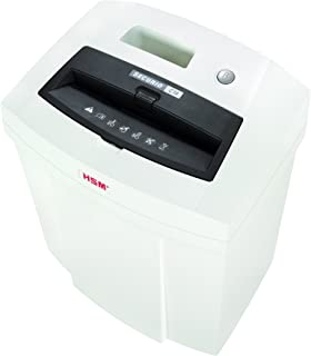 "HSM SECURIO C14 1/8"" Strip-Cut Shredder; Shreds up to 12 Sheets; 5.3-Gallon Capacity"