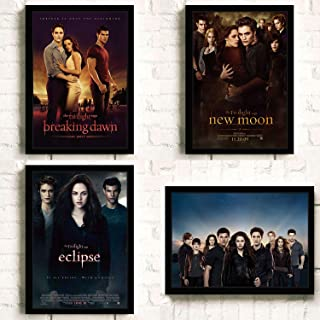 The Twilight Saga Movie Bella Edward Breaking Dawn Poster Prints Wall Art Decor Unframed,Multiple Patterns Available,16x12 24x16 32x22 Inches