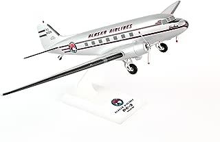 Daron Skymarks Alaska DC-3 Airplane Model Building Kit, 1/80-Scale