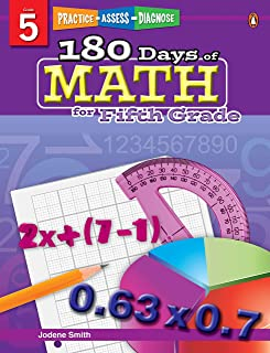180 Days of Math Series for Fifth Grade