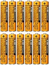 $22 » 12 Pack HHR-65AAABU NI-MH Rechargeable Battery for Panasonic 1.2V 630mAh AAA Battery for Cordless Phones