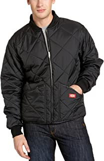 Men's Water Resistant Diamond Quilted Nylon Jacket