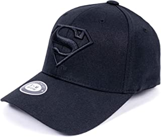 buy popular ea115 1a747 DC Comics Superman Fitted Hat Men Women Flexfit Baseball Ball Cap  Officially Licensed