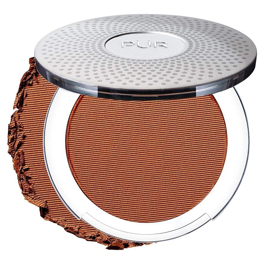 素晴らしいです航海の透明にPUR 4-in-1 Pressed Mineral Makeup Foundation- DEEP