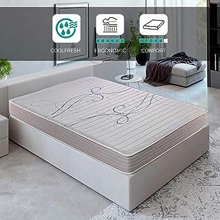 ROYAL SLEEP Colchón viscoelástico 135x190 de máxima Calidad, Confort y firmeza Alta, Altura 14cm. Colchones Xfresh