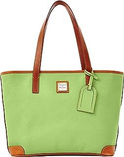 Dooney & Bourke Women's Pebble Charleston Shopper Apple Green