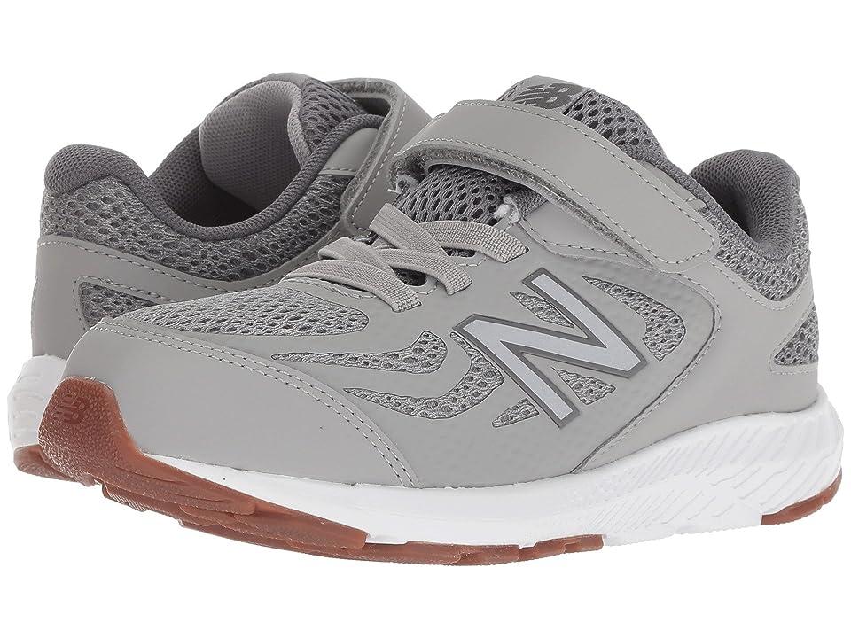 New Balance Kids KV519v1Y (Little Kid/Big Kid) (Team Away Grey/Castlerock) Boys Shoes