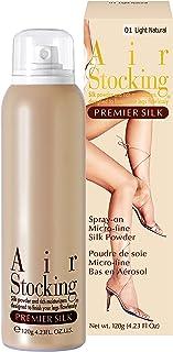 [色白肌][PS01] エアーストッキング プレミアシルク ライトナチュラル AirStocking Premier Silk 120g Light Natural