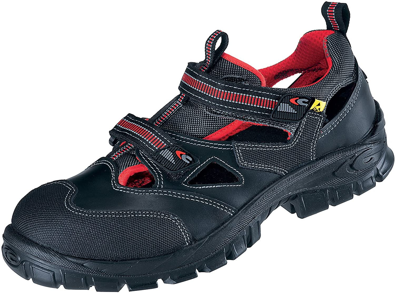 Cofra 13050-000.W42 Size 42 S1 P ESD SRC  Guttorm  Safety shoes - Black - EN safety certified