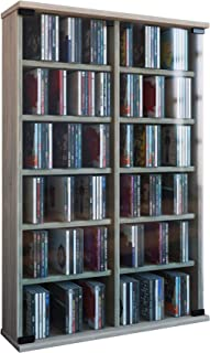 VCM Retal Mueble para Discos de Vinilo, Roble Sonoma (Vetas), 91,5x60x18 cm