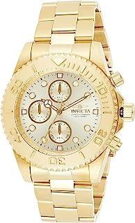 Pro Diver Men's Wrist Watch Stainless Steel Quartz Champagne Dial - 1774