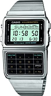 DBC-611-1CR Data Bank Classic Series Quality Watches - Silver