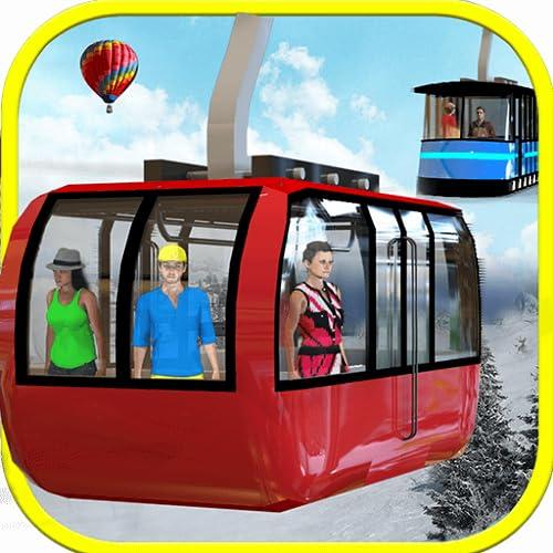 Extreme Sky Tram Driver Simulator - Tourist Games