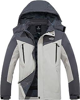 Men's Waterproof Snowboarding Jacket Windproof Ski Jackets Winter Snow Coats Warm Fleece Raincoats
