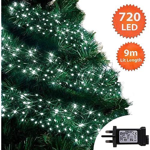 Bright White Christmas Tree Lights Amazoncouk