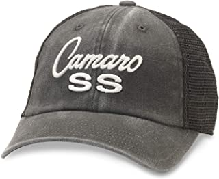 American Needle Raglan Bones Camaro SS Trucker Hat (GM-1909C-BLK)