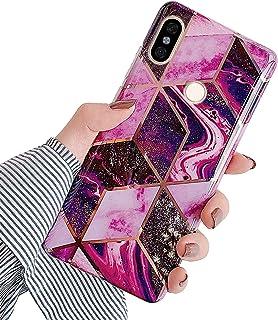 Xiaomi Redmi Note 5 skal silikon TPU skal marmor spegel reflektion fall plätering back cover ultratunn silikon stötfångare...