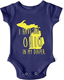 I Have an Ohio UM Michigan Fans Baby One Piece