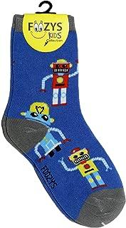Foozys Kids Boys Novelty Socks - Crazy Funny Cool Colorful Fashion Crew Socks