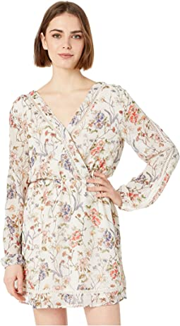 Lulani Faux Wrap Dress