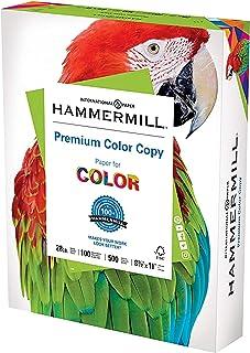 Hammermill Printer Paper, Premium Color 28 lb Copy Paper, 8.5 x 11 - 1 Ream (500 Sheets) - 100 Bright, Made in the USA, 10...
