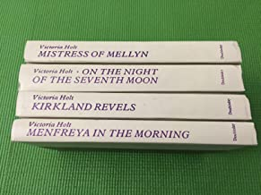 4-BOOK SET BY VICTORIA HOLT - MISTRESS OF MELLYN, ON THE NIGHT OF THE SEVENTH MOON, KIRKLAND REVELS, MENFREYA IN THE MORNING