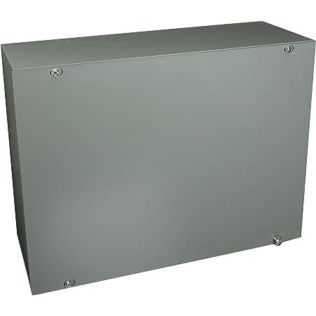 Gray Steel Screw Cover Hoffman ASE24X24X8NK Pull Box 24 x 24 x 8