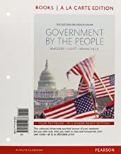 Government by the People, 2014 Elections and Updates Edition, Books A La Carte (25th Edition)