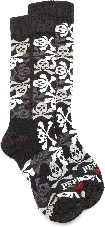 Hot Chillys Boys' Pirates Med Sock
