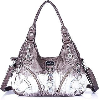 Handbag Hobo Women Bag Roomy Multiple Pockets Street ladies Shoulder Bag Fashion PU Tote Satchel
