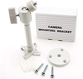 CMC TECH Video Camera Mount Adjustable Universal Pan Tilt Camera Mounting Bracket for Arlo, Arlo Pro Zmodo, WYZE, Amcrest,...