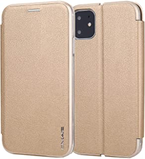 Leather Cover Compatible with Samsung Galaxy Note 10, gold Wallet Case for Samsung Galaxy Note 10