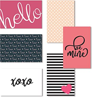 Love Note Cards, Blank Valentine's Day Greeting Cards, 4x6 Blank Note Cards, Love Note Cards and Envelopes Set, Blank Romantic Cards Assortment Bulk - 4 x 6 Inches, 36 Pack