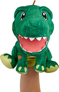 WowWee Alive JR. Play and Say Puppets - Interactive Plush Puppets - Durpy The Dino