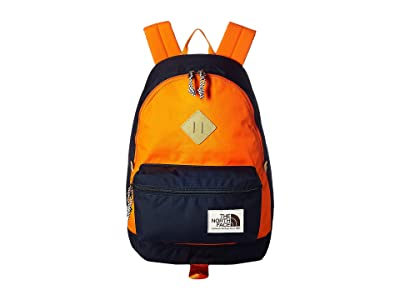 The North Face Berkeley Backpack (Urband Navy/Persian Orange) Backpack Bags