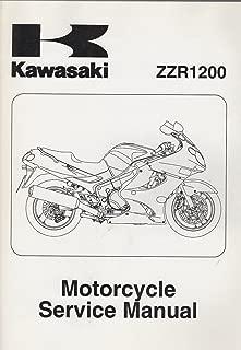 2002-2005 KAWASAKI MOTORCYCLE ZZR1200 SERVICE MANUAL 99924-1279-04 (728)