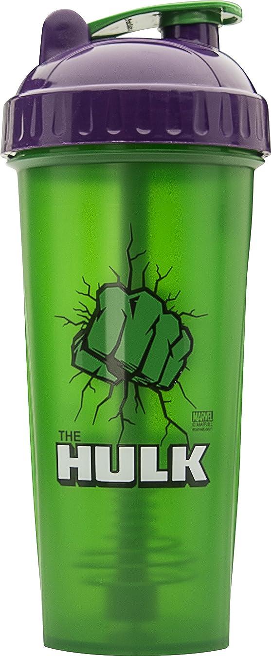 ビバ日光ウェイドPerfectShaker Hero Series Shaker Cup, Hulk, 28 Ounce by PerfectShaker