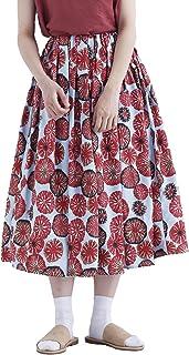 (メルロー) merlot お花柄スカート1597 868200351597