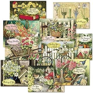 Susan Winget Birthday Greeting Cards Value Pack - Set of 20 (10 designs), Large 5