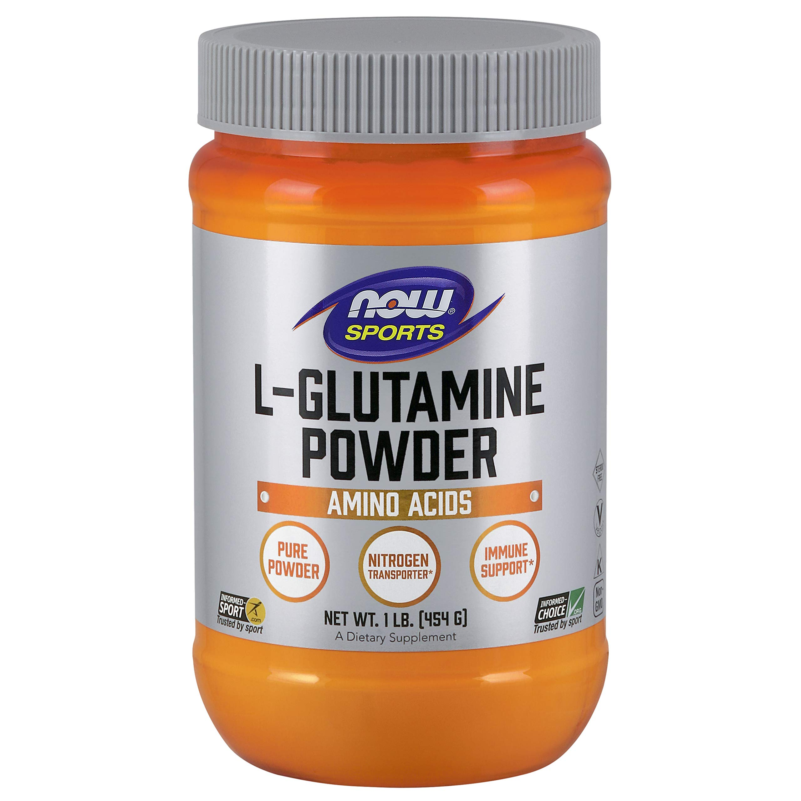 NOW Sports L Glutamine Powder 1 Pound