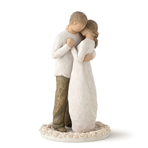 Willow Tree hand-painted sculpted Cake Topper, Promise