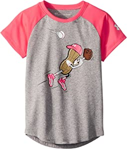 Outfielder Peanut Short Sleeve Tee (Little Kids)