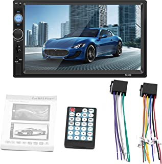 Yeenis 2 Din Car Video Player DVD 7'' HD Touch Screen Bluetooth Stereo Radio Car MP3 MP4 MP5 Audio USB Auto Electronics In...
