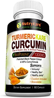 TURMERICKARE-Organic Turmeric Curcumin with BIOPERINE for Optimal Absorption.Advanced Joint & ANTIOXIDANT Support with Gua...