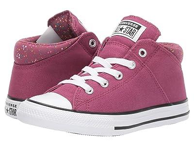Converse Kids Chuck Taylor(r) All-Star(r) Madison Galaxy Dust Mid (Little Kid/Big Kid) (Mesa Rose/Mod Pink/White) Girls Shoes